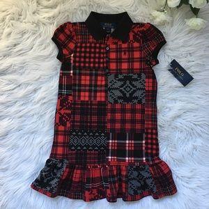 Ralph Lauren Plaid Polo Dress